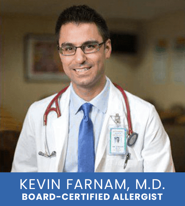 Dr. Farnam can help you breathe easier