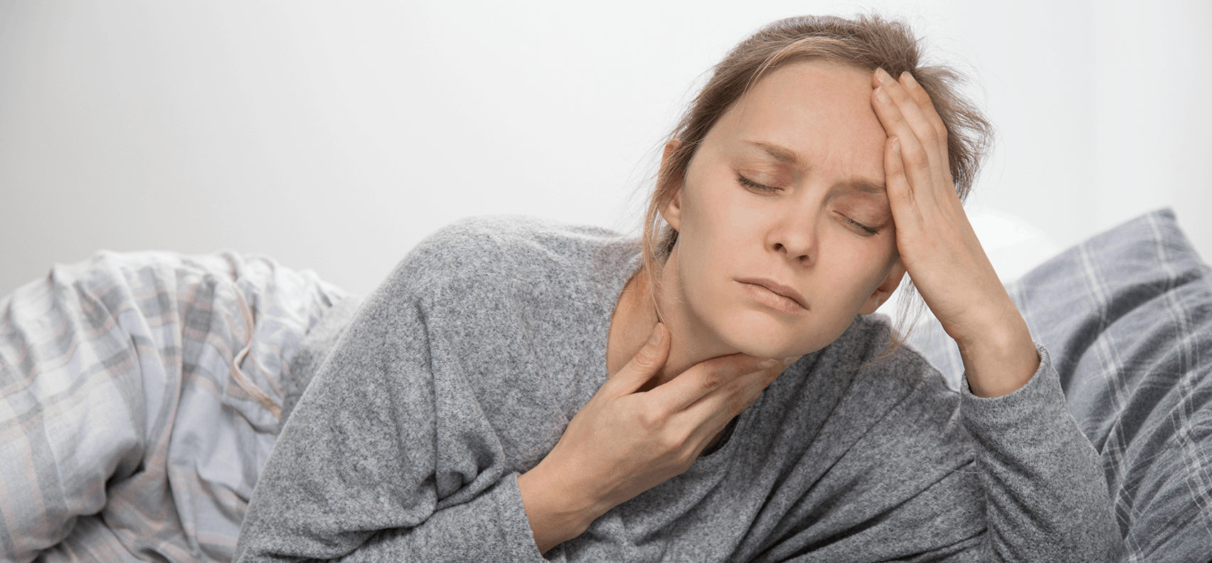 Can allergies cause a sore throat?